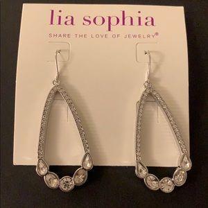 Lia Sophia Grandeur Cut Crystals pierced